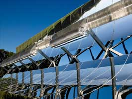 solar thermal power plant heliostat